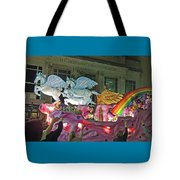 Order Of Polka Dots Emblem Float - Side View Tote Bag