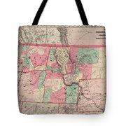 Oregon And Washington Territory Tote Bag