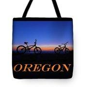Oregon Bikes 2 Tote Bag