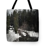 Oregon Cascade Range River Tote Bag