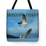 Oregon Coast Amazing Seagulls Tote Bag