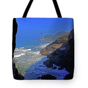 Oregon Coast From Sea Lion Caves Tote Bag