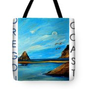 Oregon Coast Graphics Tote Bag