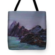 Oregon Coast Seal Rock Mist Tote Bag