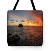 Oregon Coast Sunset Tote Bag