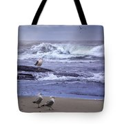 Oregon Coastal Morning Tote Bag