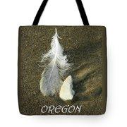 Oregon Feather Tote Bag