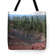 Oregon Landscape - Crater At Lava Butte Tote Bag