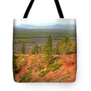Oregon Landscape - View From Lava Butte Tote Bag