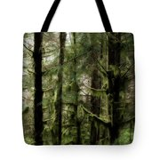 Oregon Old Growth Coastal Forest Tote Bag