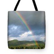 Oregon Rainbow Tote Bag
