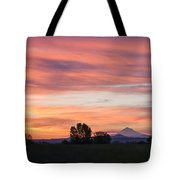 Oregon Sunrise Tote Bag
