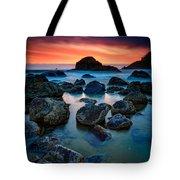 Oregon Sunset Tote Bag
