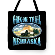 Oregon Trail Nebraska History Design Tote Bag