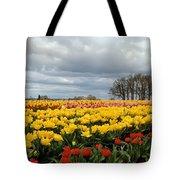 Oregon Tulip Fields 2 Photograph Tote Bag
