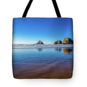 Oregons Rocky Coast Tote Bag