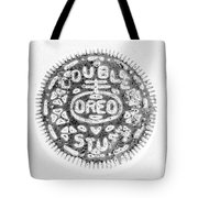 Oreo In Negetive Tote Bag