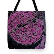 Oreo In Pink Tote Bag by Nancy Mueller