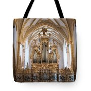 Organ Of The Gothic-baroque Church Of Maria Saal Tote Bag