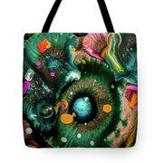 Organic Abstract 3 Tote Bag