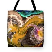 Organic Abstract Tote Bag