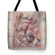 Organic Co-existence Tote Bag