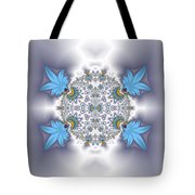 Organic Fractal Tote Bag
