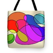 Organic Kaleidoscope Tote Bag