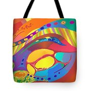 Organic Life Scan Or Cellular Light - Blood Tote Bag