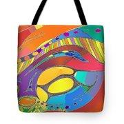 Organic Life Scan Or Cellular Light - Original, Square Tote Bag