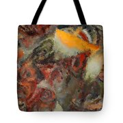 Organic Shapes And Colors Tote Bag