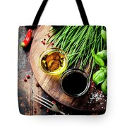 Organic Vegetables And Spices Tote Bag