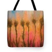 Organic Watercolor Art Tote Bag