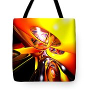 Organized Confusion Abstract Tote Bag