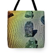 Organized Tranquility  Tote Bag