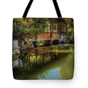 Orient - Bridge - The Chinese Garden Tote Bag