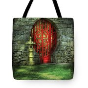 Orient - Door - The Moon Gate Tote Bag