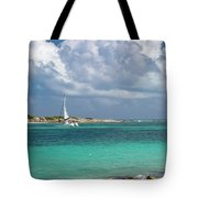 Orient Beach Catamaran Tote Bag