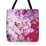 Oriental Leaves Tote Bag