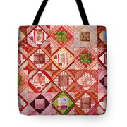 Oriental Patchwork Tapestry Tote Bag