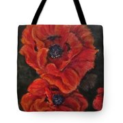 Oriental Poppys  Tote Bag