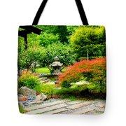 Oriental Scenic Tote Bag