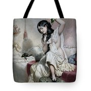 Oriental Woman At Her Toilet Tote Bag