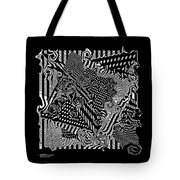 Origami Abstraction Tote Bag