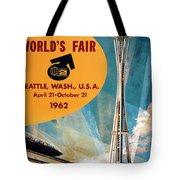 Original 1962 Seattle Worlds Fair Promotion Tote Bag