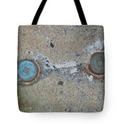 Original Damaged Pipes Tote Bag