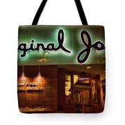 Original Joe's Night View  Tote Bag