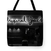 Original Joe's  San Jose Bw Tote Bag