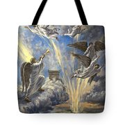Sixth Trumpet Angel Tote Bag