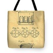 Original Patent For Canning Jars Tote Bag